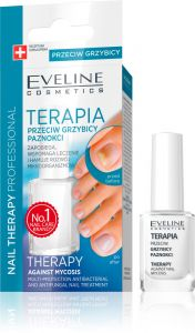Eveline Cosmetics Nail Therapy Against Mycosis Toe Nail Conditioner (12mL)