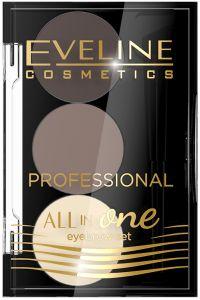 Eveline Cosmetics All In One Eyebrow Set No. 1
