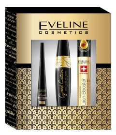 Eveline Cosmetics Eye Make-upgift Set: Eye Liner, Mascara, Lash Booster