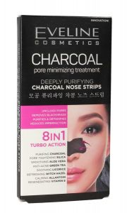 Eveline Cosmetics Deeply Purifying Charcoal Nose Strips (2pcs)