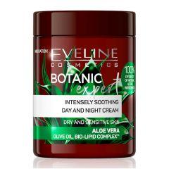 Eveline Cosmetics Botanic Expert Intensely Soothind Day&Night Cream Aloe Vera (100mL)