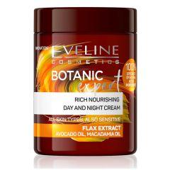 Eveline Cosmetics Botanic Expert Rich Nourishing Day&Night Cream Flax Extract (100mL)