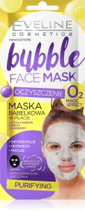 Eveline Cosmetics Fabric Mask Bubble Cleaning