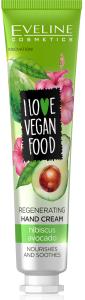 Eveline Cosmetics I Love Vegan Food Hand Cream Avocado&hibisc (50mL)