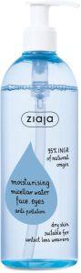 Ziaja Moisturising Micellar Water Face, Eyes, Anti-pollution (390mL)