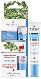Floslek Lid & Under Eye Gel With Eyebright (15mL)