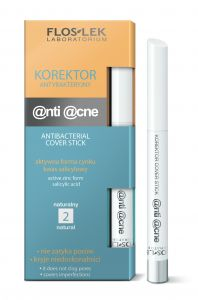 Floslek Anti Acne Antibacterial Cover Stick Natural