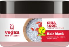 Vegan Desserts Chia & Goji Pudding Hair Mask (250mL)
