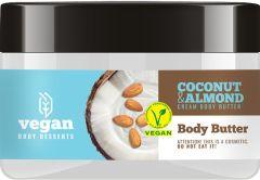 Vegan Desserts Coconut & Almond Body Butter (250mL)