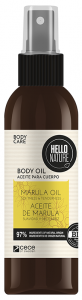 Hello Nature Marul Oil Body-hair-face Softness & Tenderness (130mL)
