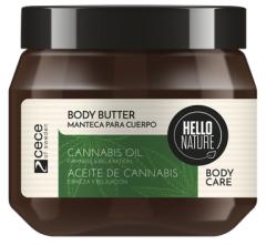 Hello Nature Body Butter Cannabis Oil Firmness & Relaxation (250mL)