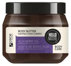 Hello Nature Body Butter Acai Oil Regeneration & Anti-aging (250mL)