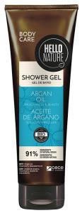 Hello Nature Shower Gel Argan Oil Smoothness & Beauty (250mL)