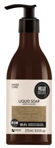 Hello Nature Liquid Soap Coconut Oil Moisture & Repair (270mL)