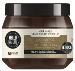 Hello Nature Hair Mask Coconut Oil Moisture & Repair (250mL)