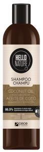 Hello Nature Shampoo Coconut Oil Moisture & Repair (300mL)
