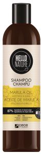 Hello Nature Shampoo Marula Oil Softness & Shine (300mL)