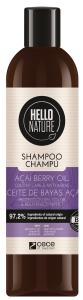 Hello Nature Shampoo Acai Oil Colour Care Anti-aging (300mL)