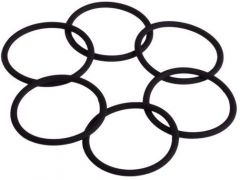 Donegal Ponytail Holder Black (12pcs)