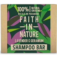 Faith in Nature Shampoo Bar Lavender & Geranium (85g)