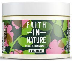 Faith in Nature Wild Rose & Chamomile Restoring Hair Mask (300mL)