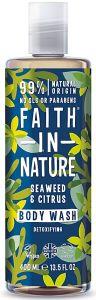 Faith in Nature Detoxifying Wash /Bath Foam-Seaweed & Citrus (400mL)