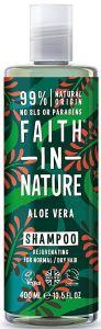 Faith in Nature Rejuvenating Shampoo Aloe Vera (400mL)