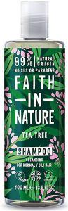 Faith in Nature Cleansing Shampoo Tea Tree (400mL)
