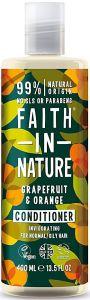 Faith in Nature Invigorating Conditioner Grapefruit & Orange (400mL)