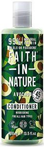 Faith in Nature Nourishing Conditioner Avocado (400mL)