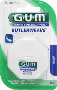 Gum Butlerweave Waxed Floss 55m