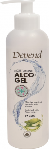 Depend Moisturising Alco Spray 77vol% Effective Against Bacteria and Viruses (250mL)