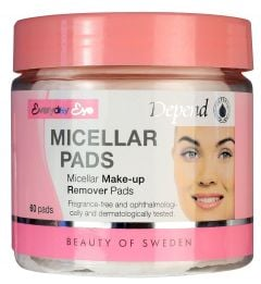 Depend Micellar Make-up Remover Pads (60pads)
