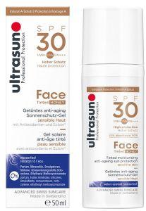 Ultrasun Sun Protection Face Cream Tinted SPF30 (50mL)