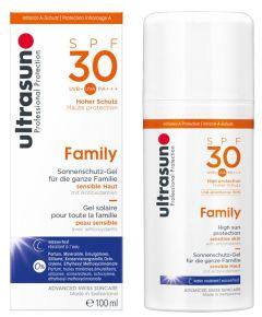 Ultrasun Sun Protection Gel Family SPF30 (100mL)