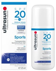 Ultrasun Sun Protection Fluid Sports SPF20 (125mL)