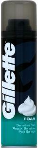 Gillette Shave Foam Sensitive (200mL) Sensitive Skin