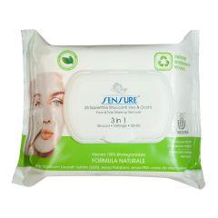 Sensure Green Line-Eco Natural 3in1 Makeup Remover (25pcs)