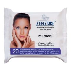 Sensure Make Up Remover Wet Wipes (20pcs)