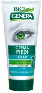 Genera Relax Feet Cream Genera BIO Eco with Hamamelis, Mint & Lemon Balm Extracts (100mL)