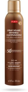 Pupa Multifunction Invisible Sunscreen Spray Body, Hair and Scalp SPF 50 (200mL)