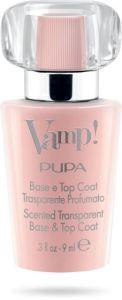 Pupa Vamp! Base and Top Coat Pink (9mL)