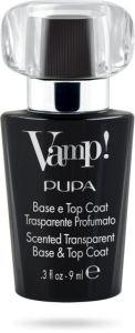 Pupa Vamp! Base and Top Coat Black (9mL)