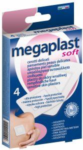 Megaplast Sensitive Skin Plasters (4pcs)