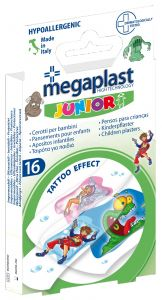 Megaplast Tattoo Effect Children Plasters (16pcs)