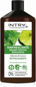 Intra Mint & Lime Organic Refreshing Body Wash (400mL)
