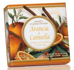 Fiorentino Soap Taormina Orange and Cinnamon (100g)
