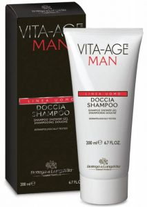 Bottega Di Lungavita Vita-Age Man Shampoo Shower Gel (200mL)