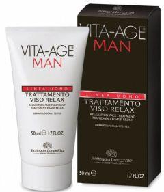 Bottega Di Lungavita Vita-Age Man Relaxing Face Treatment (50mL)