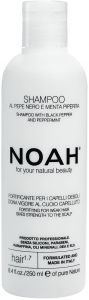 Noah Fortifying Shampoo with Black Pepper and Peppermint (250mL)
